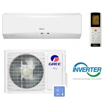 Настенная сплит-система Gree GWH12TB-S3DBA1E серия Hansol Inverter (Инверторный тепловой насос, Cold Plazma, Wi-Fi)