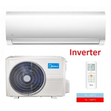 Настенная сплит-система Midea MA-12H1DO-I/MA-12N1DO-O серия Blanc DC Inverter New (-15...+50°C; A++)