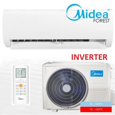 Настенная сплит-система Midea MSAFAU-09HRDN1/MOBA30-09HFN1 серия Forest DC Inverter (-15...+50°C; A++)