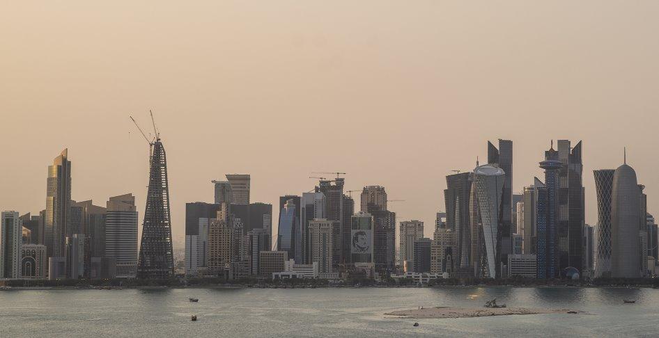 Жара в Катаре